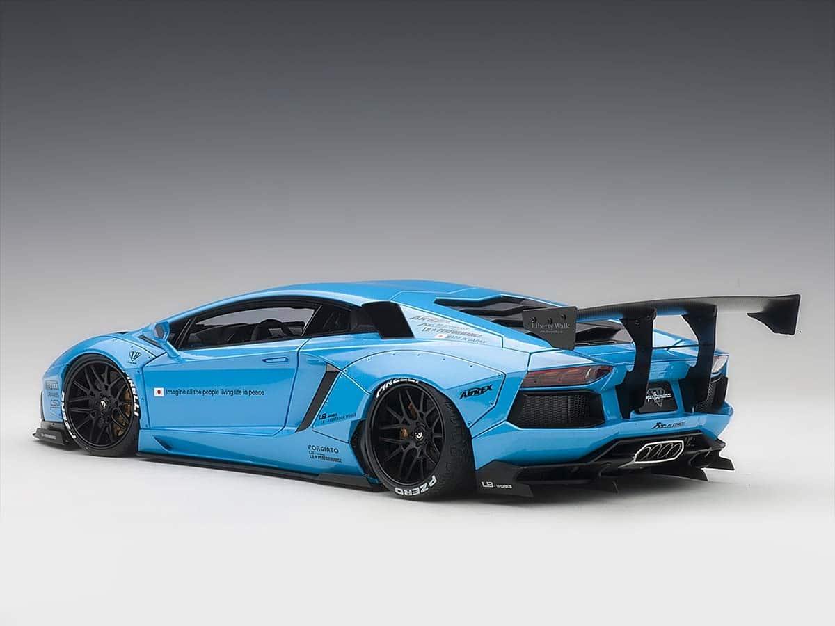 Lamborghini Aventador Liberty Walk 1 18 Autoart 79107 Modelkars