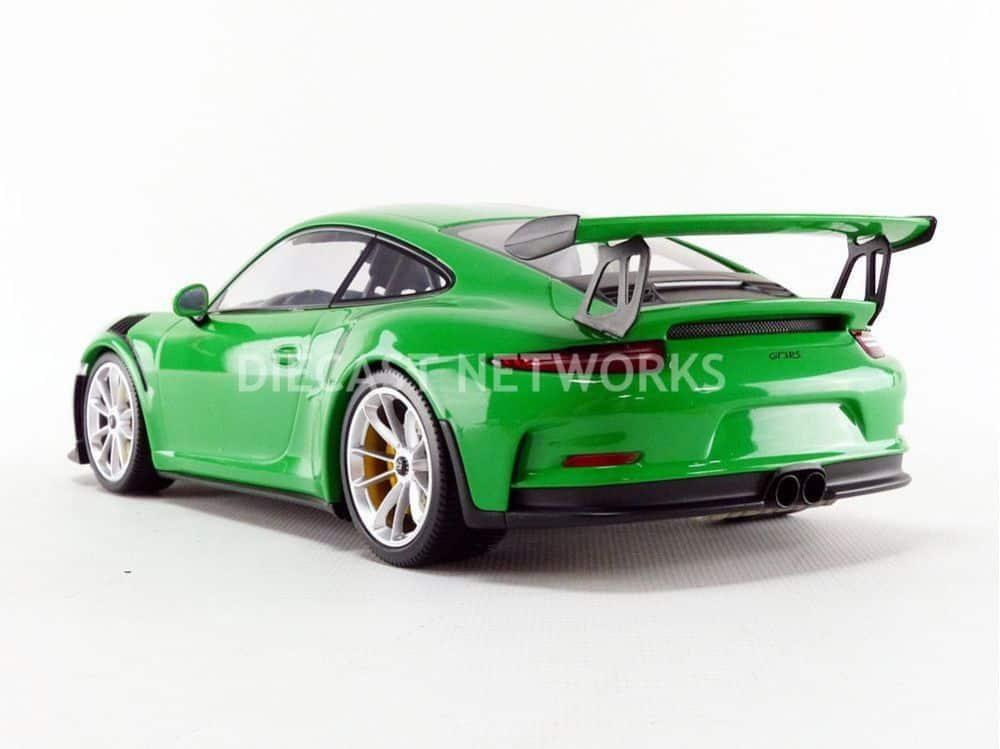 1:18 Minichamps Porsche 911 GT3 RS 2015 green 991