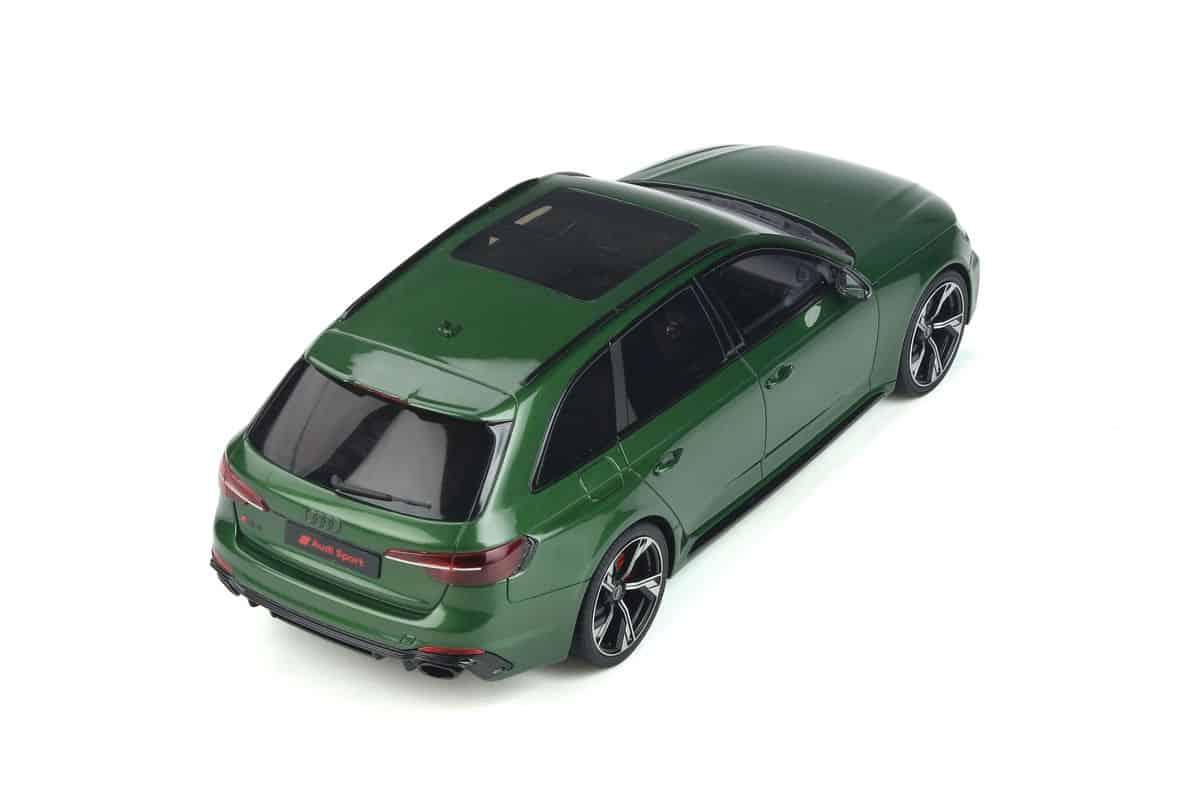 Kombi Baujahr 2020 somona Audi RS4 A4 Avant green 1:18 GT296 GT Spirit B9