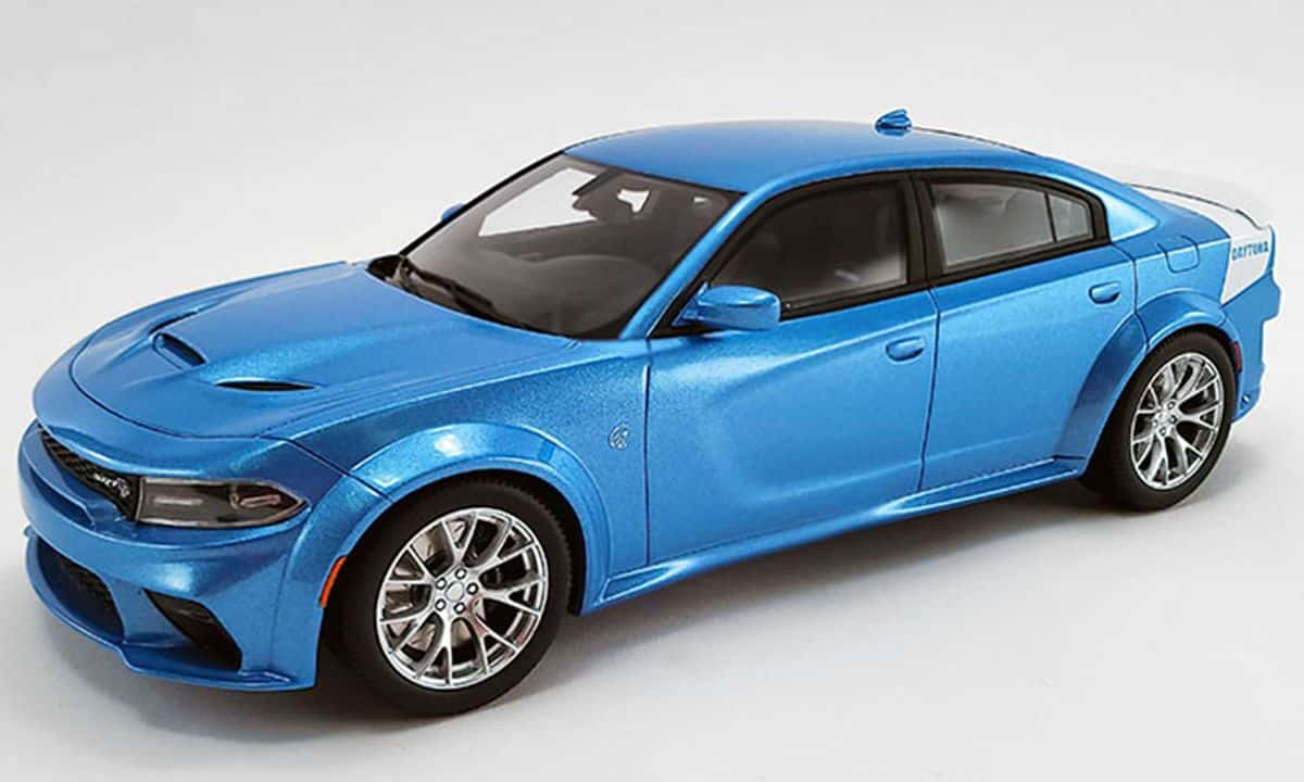 Dodge Charger Srt Hellcat Daytona 50th Anniversary 1 18 Gt Spirit Pre Orders Us031 Modelkars
