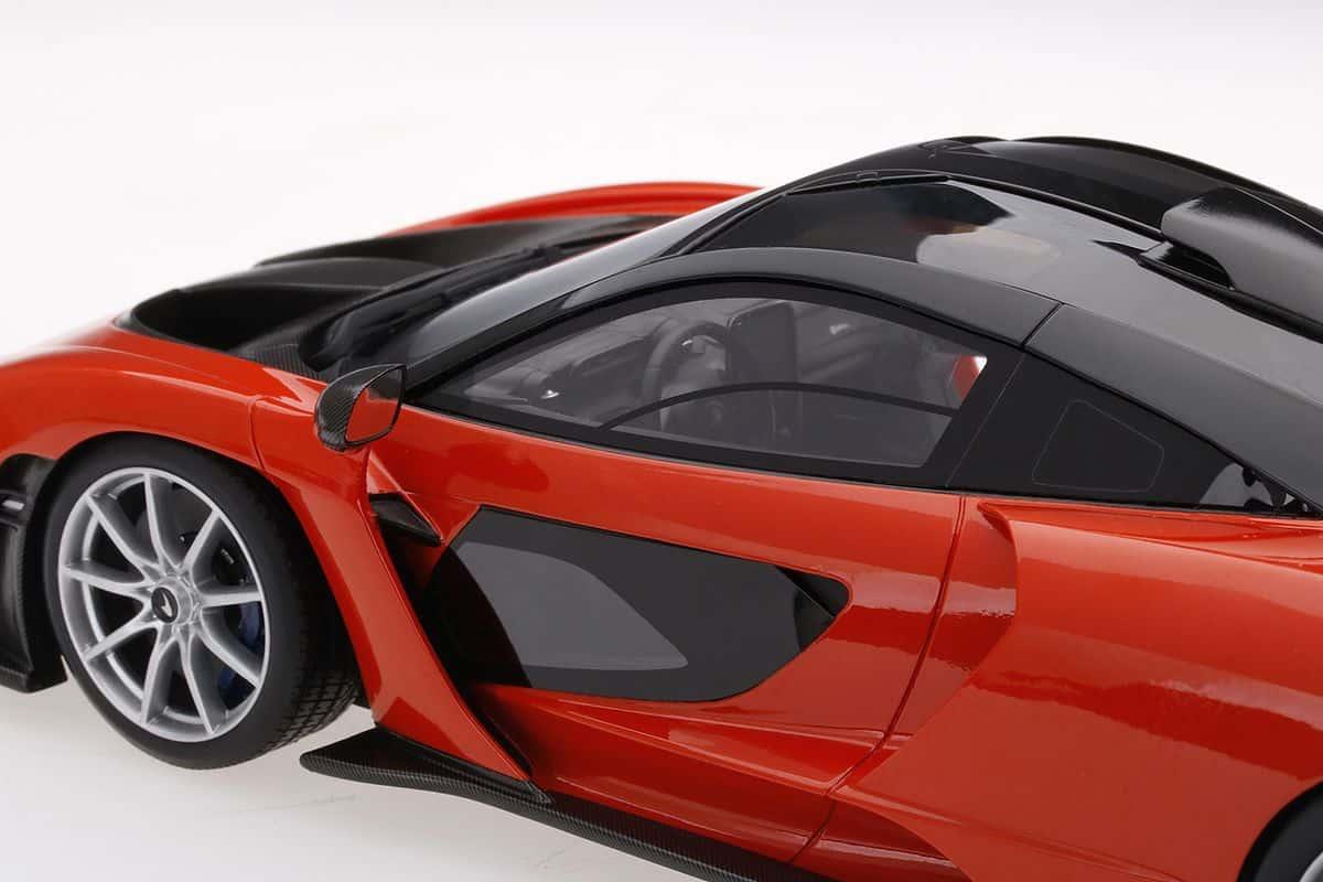 McLaren Senna Mira orange TopSpeed 1:18 TS0246