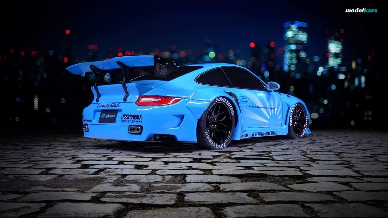Porsche 911 (997) Liberty Walk 1:18 GT Spirit KJ011 ...