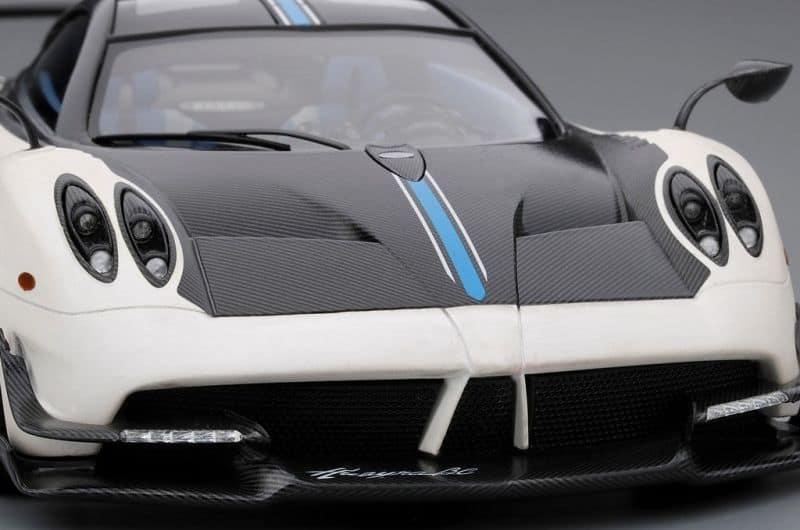Pagani Huayra Bc Matte White Geneva Motor Show 2016 Top Speed 1:18 Model