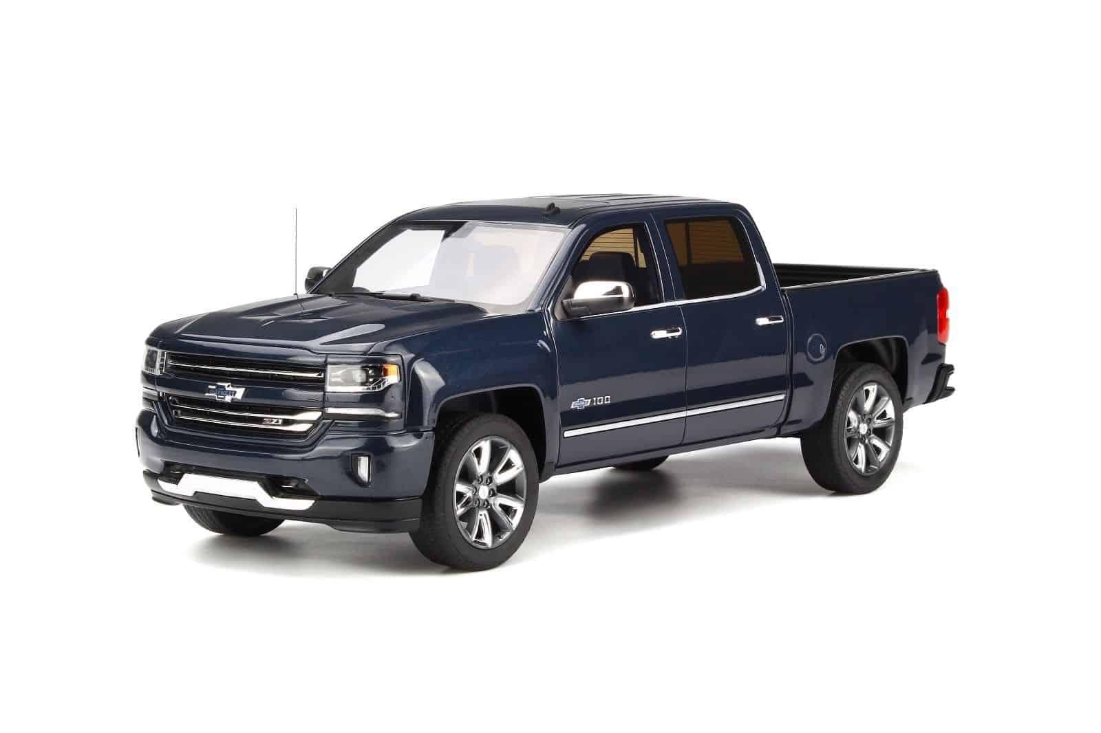 Chevrolet Silverado Centennial Blue Limitiert 999 Stück GT Spirit  1:18 NEU