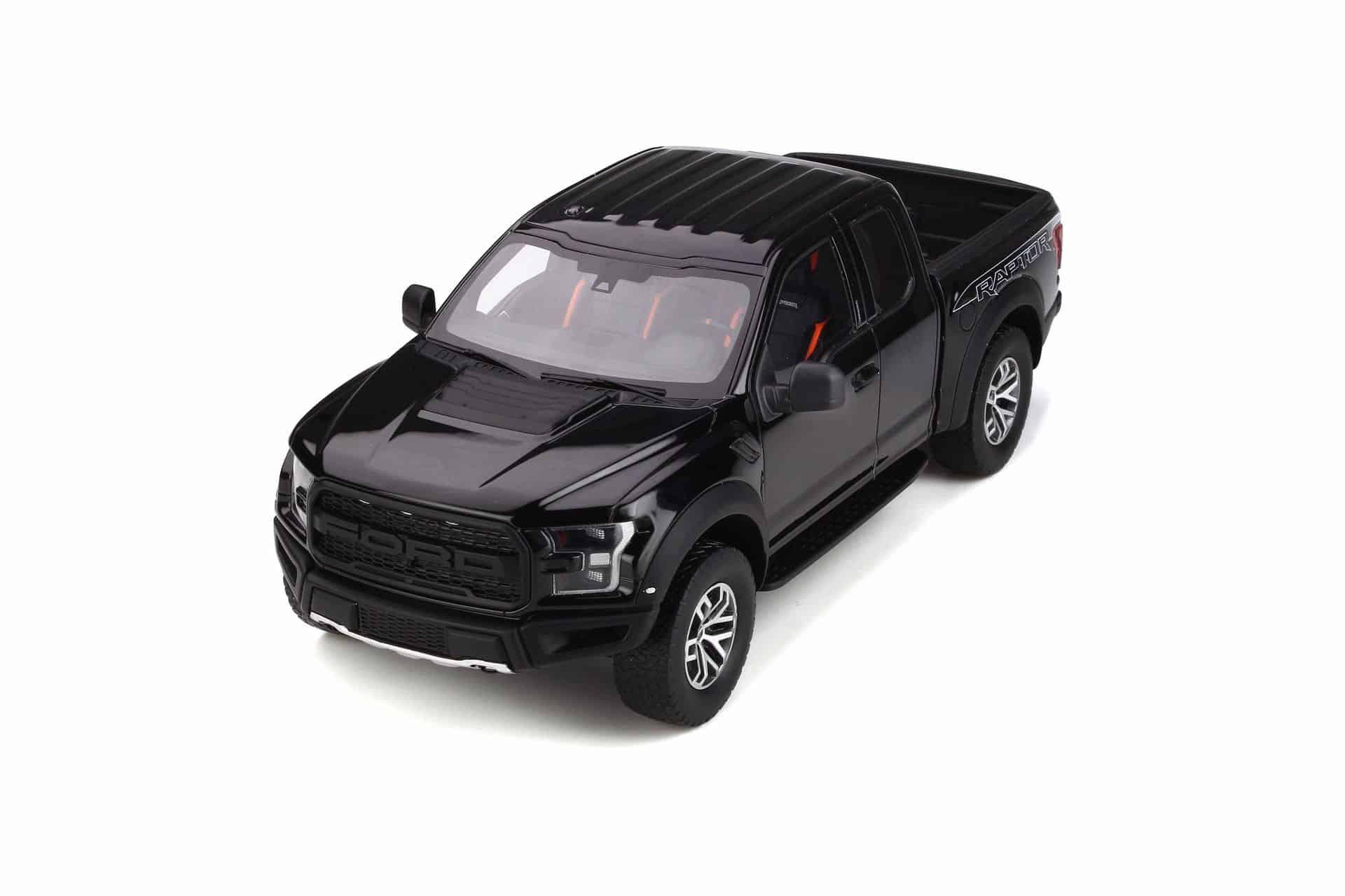 limited 1//500 GT Spirit 781 Ford Raptor F150 black 2017 1:18