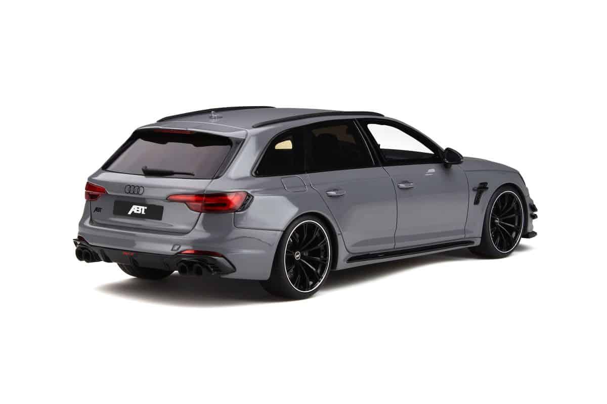 Audi RS4 A4 B9 ABT Avant Kombi Nardo Grau Ab 2015 Nr 236 1//18 GT Spirit Modell A